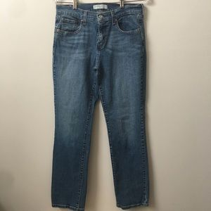 Levi's 505 Straight Denim Hi Rise Jeans